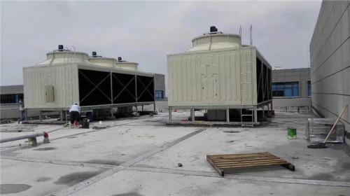 方形横流冷却水塔